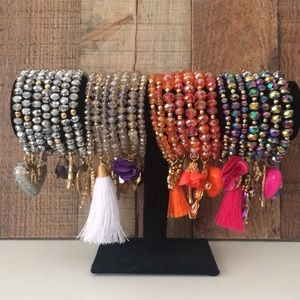 Jewelry - Set of Mexican bracelets set of 7 *one day sale*